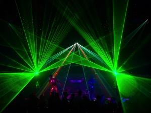 Laser-Show bei LOBO