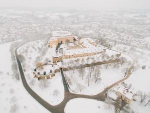 Schloss Ellwangen im Winter